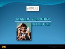 MATERIAL CURSO MANEJO Y CONTROL DEL ESTRES