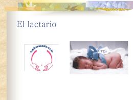 El lactario - Complejo Hospitalario Universitario de Albacete