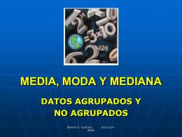 MEDIA, MODA Y MEDIA