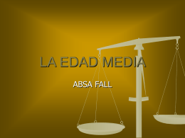 LA EDAD MEDIA - Educastur Hospedaje Web