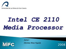 Intel CE 2110 Media Processor
