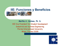 Beneficios - Arise - Florida International University