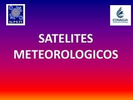 SATELITES METEOROLOGICOS