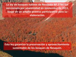 Bosques Neuquinos en Peligro