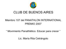 CLUB DE BUENOS AIRES