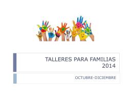 TALLERES PARA FAMILIAS - Recursos para educadores, …