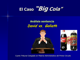 EL CASO BIG COLA