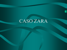 CASO ZARA - Google Sites