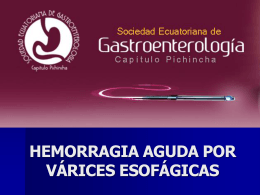 CASO CLINICO - Sociedad Ecuatoriana de …