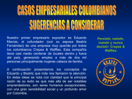 Caso Exitoso Crepes & Waffles
