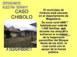 CASO CHIBOLO