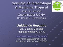 Caso HIV-HV - Ministerio de Salud