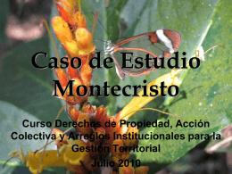 Caso de Estudio Montecristo