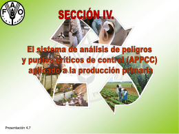 APPC - Food and Agriculture Organization of the United …