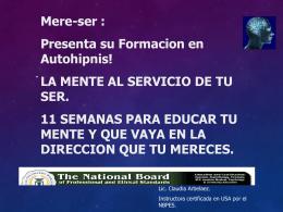 Diapositiva 1 - Mere-ser