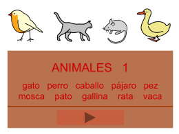 ANIMALES - 9 l e t r a s | Blog de recursos educativos
