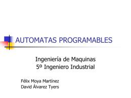 AUTOMATAS PROGRAMABLES - Universidad de Huelva