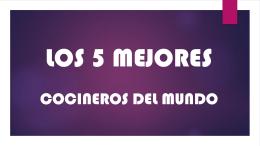 LOS 5 MEJORES