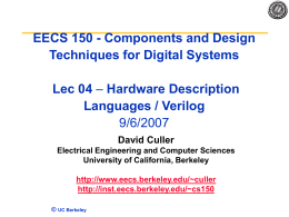 Lecture1 Introduction - EECS Instructional Support Group