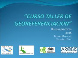 Diapositiva 1 - Subnodo Argentino de Obis