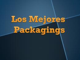 Los Mejores Packagings