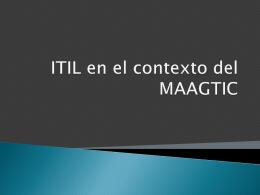 ITIL - CIMAT
