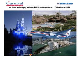 Carnival te lleva a Orlando Sali