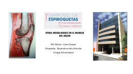 OTRAS MODALIDADES EN EL MANEJO DEL DOLOR