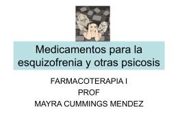Medicamentos para la esquizofrenia y otras psicosis
