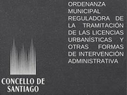 ORDENANZA MUNICIPAL REGULADORA DE LA …