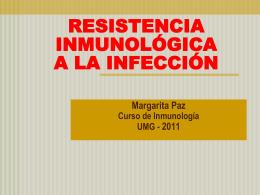 DEFENSA INMUNE CONTRA AGENTES MICROBIANOS