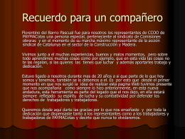 Diapositiva 1 - Seccion Sindical CCOO de PAYMACotas