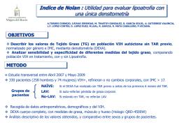 Indice de Nolan : Utilidad para evaluar lipoatrofia con