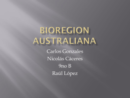 Bioregion Australiana