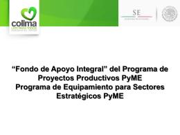Diapositiva 1 - SEFIDEC -