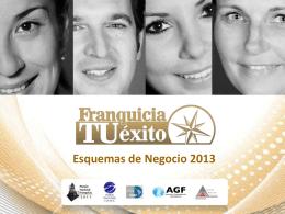 Diapositiva 1 - Franquicia Tu Exito, escoge tus