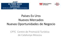 Paises Ex Urss Nuevos Mercados Nuevas Oportunidades …