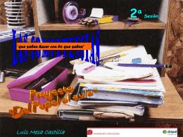 Competenmcias Proyecto 'Papel al aula'