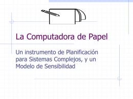 La Computadora de Papel - planeco3 | Sitio de