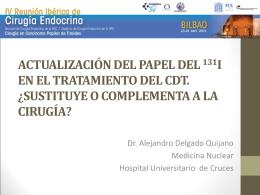 PAPEL ACTUAL DEL 131I EN EL CARCINOMA …