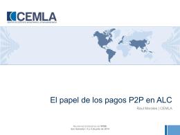 El papel de pagos P2P en ALC