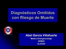 Diagnosticos Omitidos con Riesgo de Muerte