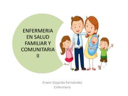 ENFERMERIA EN SALUD FAMILIAR Y COMUNITARIA II