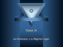 TEMA 19.