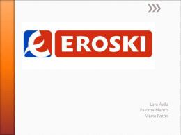 (logotipo de eroski)