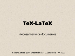 TeX-LaTeX