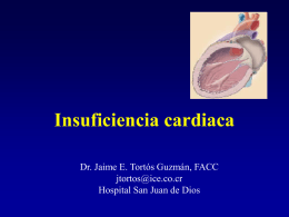 Insuficiencia cardiaca - San Juan de Dios 2008 | Hospital