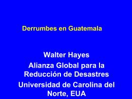 Derrumbes en Guatemala - Home