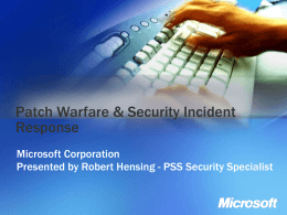 Microsoft Patch & Update Management Solutions and …