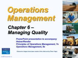 Managing Quality - Cyprus | Eastern Mediterranean